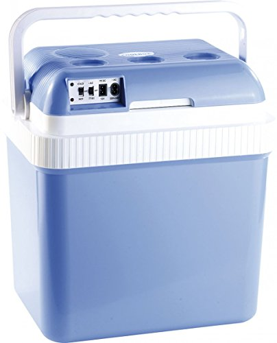 Xcase Kühlbox Auto: Thermoelektrische Kühl- und Wärmebox, 24 l, 12- & 230-V-Anschluss (Kühlbox Baustelle)