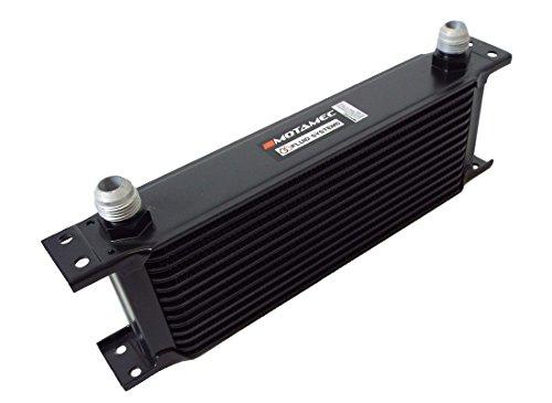 MOTAMEC Enfriador de Aceite 13 Filas – Matriz de 235 mm -10 AN JIC – Aleación Negra