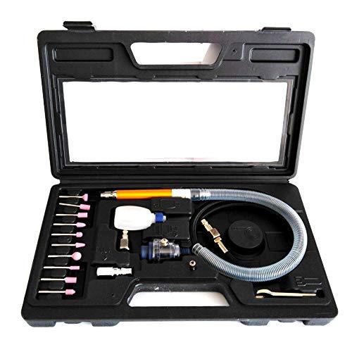 FAST WORLD SHOPPING ® Drimmel - Amoladora recta neumática de aire comprimido, fresadora, moladora, mini taladro, compresor