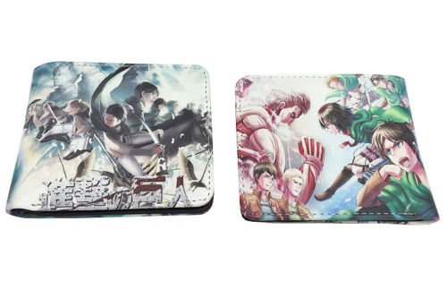 Attack on Titan Anime Brieftasche