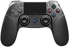 JFUNE PS4 Mando Inalámbrico para Playstation 4, Controlador para PS4/PS3, Wireless Dual Vibration Shock Game Controller - 2019 Nueva Versión (PS4 Mando Nueva Versión)