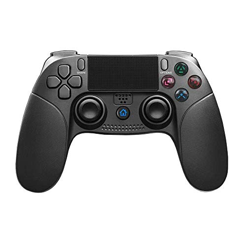 JFUNE PS4 Mando Inalámbrico para Playstation 4, Controlador para PS4/PS3, Wireless Dual Vibration Shock Game Controller - 2019 Nueva Versión (PS4 Mando Nueva Versión)