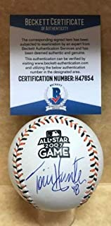 Torii Hunter Minnesota Twins Autographed Signed 2007 All Star Game Baseball Beckett H47654