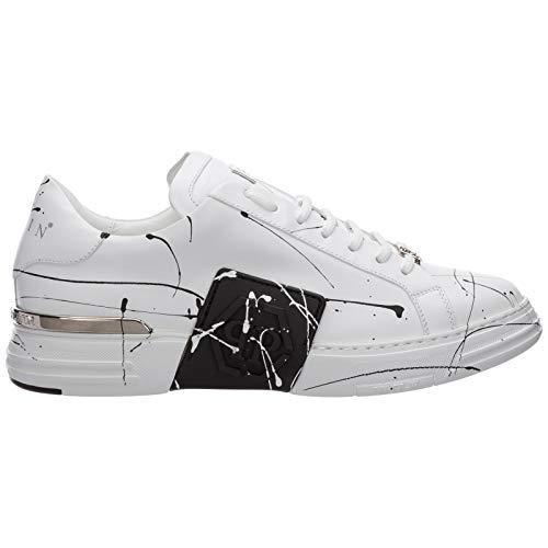 Philipp Plein Herren Phantom Kick$ Sneaker White 44 EU