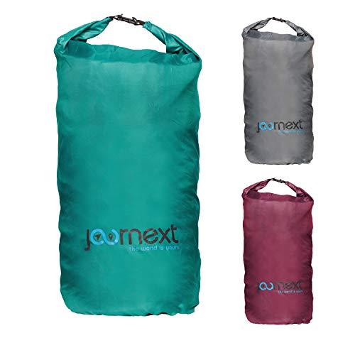 Journext 2 in 1 Rucksack Schutzhülle & Regenschutz, Schutzsack für Backpack, Schutz für Flugzeug, Bahn & Bus, Flight Bag (Coral Green, L)