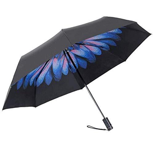 ATGGS Kreative Bluetooth Selfie Regenschirm Falten Sonnenschirm Sonnenbrille Für Männer Und Frauen Schwarz Sonnencreme