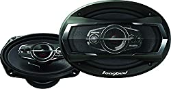 Songbird 6''X9'' Oval 600W Max 5 Way Car Speakers,SABBY ELECTRONICS,SB-B69-95