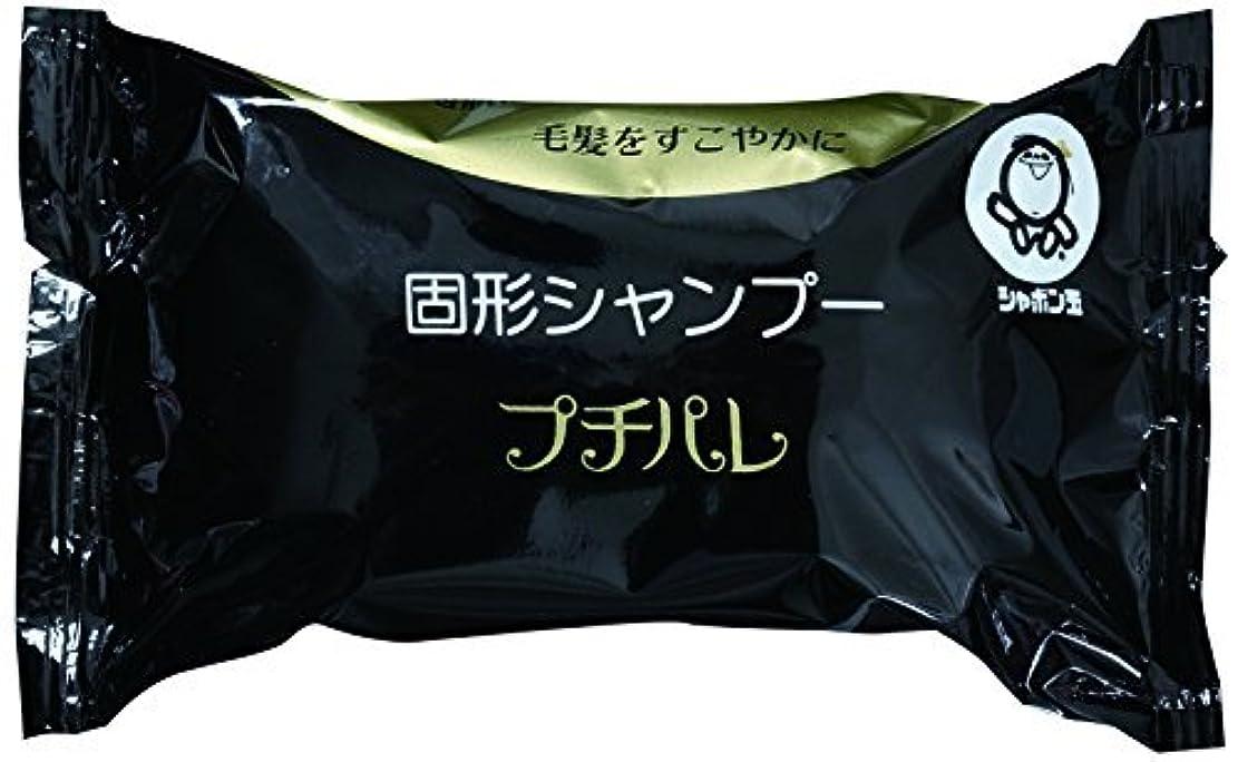 インフルエンザ戦術恨みシャボン玉 固形シャンプー プチパレ 100g(石鹸シャンプー) ?おまとめセット【6個】?