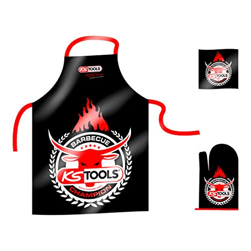 KS Tools 10033 Grill-Set Barbecue Champion, 3-tlg