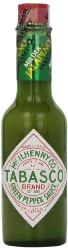 Tabasco Jalapeño Sauce , 150ml, 0,15 l, scharfe Chili Sauce, 100% natürlich, Glasflasche