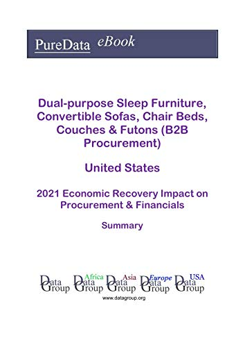 Dual-purpose Sleep Furniture, Convertible Sofas, Chair Beds, Couches & Futons (B2B Procurement) United States Summary: 2021 Economic Recovery Impact on Revenues & Financials (English Edition)