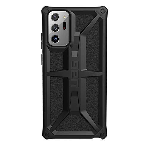 Urban Armor Gear Monarch Cover Samsung Galaxy Note20 Ultra 5G (6,9') Custodia resistente ['Designed for Samsung' certificata, compatibile ricarica wireless (Qi), protezione a 5 strati] nero