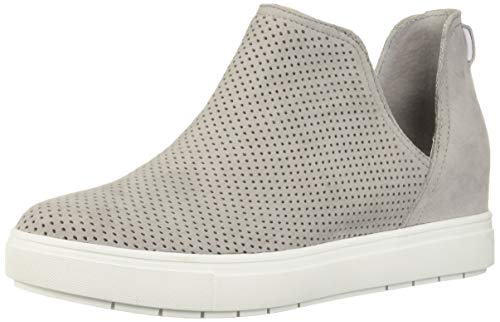 Price comparison product image STEVEN by Steve Madden Women's CANARES-P Sneaker,  Grey Suede,  8 M US