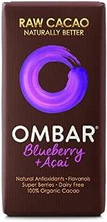 Ombar Acai & Blueberry Raw Chocolate Bar - 35g