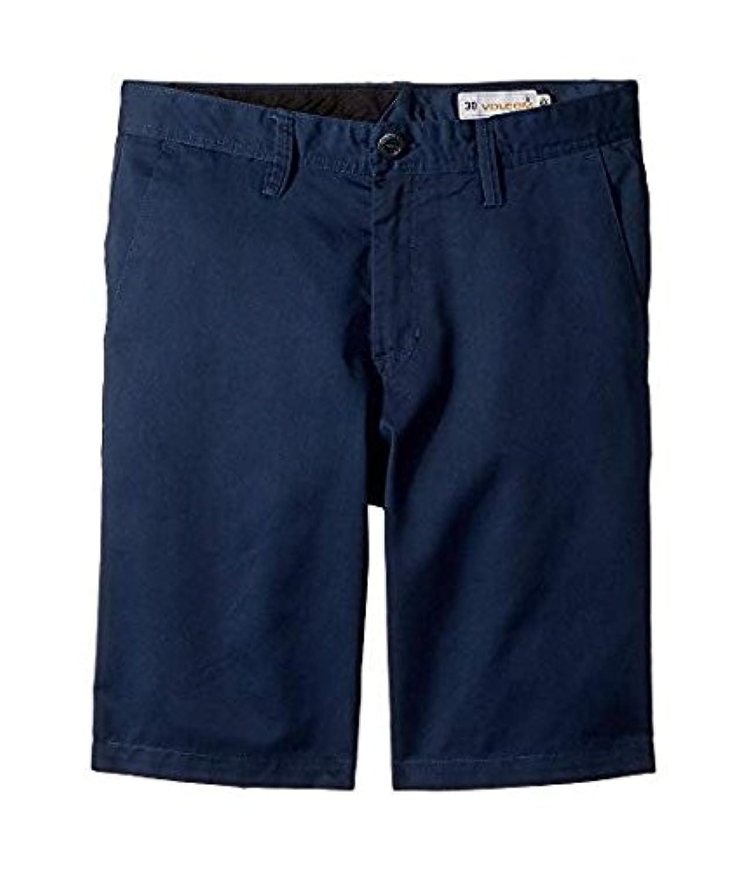 ボルコム Volcom Kids キッズ 男の子 ショーツ 半ズボン Service Blue Frickin Chino Shorts (Big Kids) 27(14BigKids) [並行輸入品]