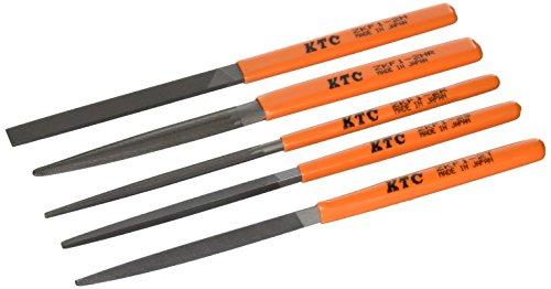 KTC(ケーテーシー) 組ヤスリ 5本組 TZKF105