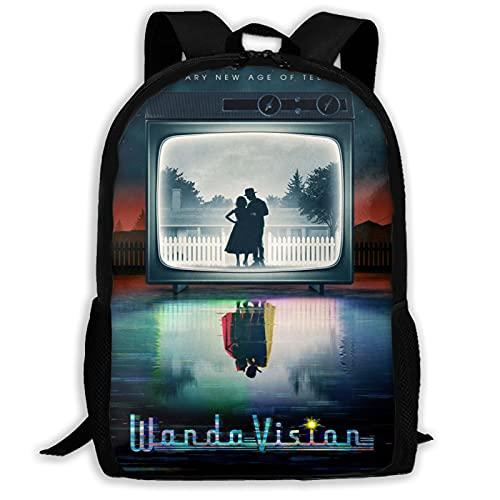 Hongfeimaoyi Wan_Da Poster Vi_Sion 3D gedruckt Mode Tagesrucksack Schultasche Laptop Rucksack Schulrucksack Reise Daypack für Jugendliche Erwachsene