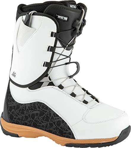 Nitro Damen Futura TLS Boot´21 Snowboardboot, White-Black-Gum, 260