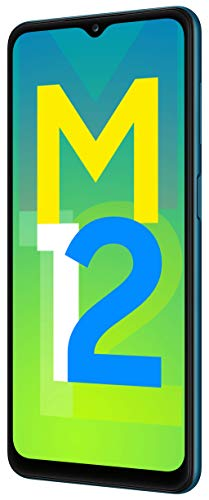 Samsung Galaxy M12 (Blue,6GB RAM, 128GB Storage) 6 Months Free Screen Replacement for Prime 6