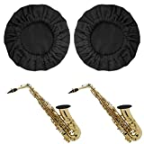 Snowki 2Pcs Reusable Music Instrument Bell Cover - 5' Thickening Trumpet cover for Trumpet, Alto Saxophone, Bass Clarinet, Cornet Bell Cover