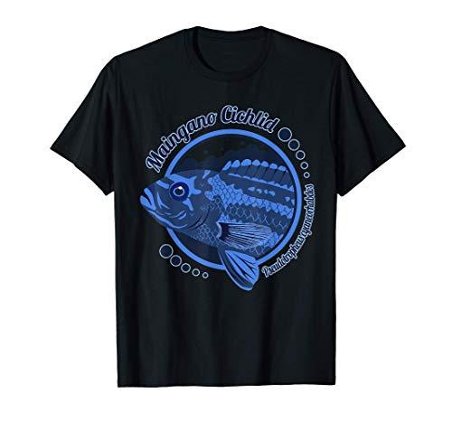 Maingano Cichlide Malawi Buntbarsch Aquarium Zierfisch Mbuna T-Shirt