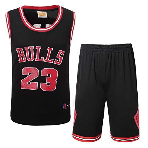 Basketball-Kleidung für Männer und Frauen Jordan 23 Champion Sticktrikot Bulls Chicago Retro-Anzug High-End-Stickerei-Prozess-Jordan3-XL