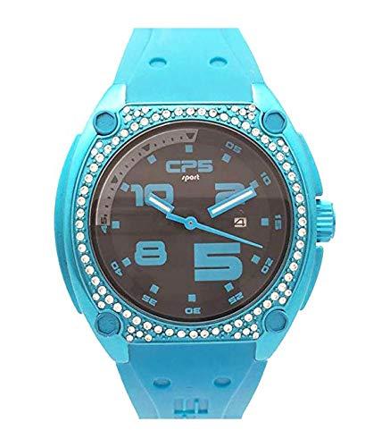 Cp5 Sport Reloj Análogo clásico para Mujer de Cuarzo con Correa en Caucho SOC 1BD