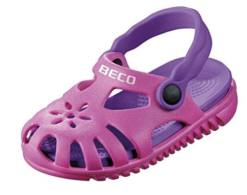 Beco Unisex-Kinder Kindersandalen-90026 Slingback Sandalen, Pink (Pink 4), 25 EU