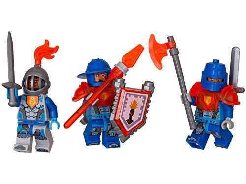Lego Nexo Knights - 3 Soldatini - 27 Pezzi Accessory - 6 Anni