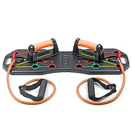 Tabla de entrenamiento plegable con movimiento de cuerda para entrenar más equipos de fitness, para interiores y gimnasios.