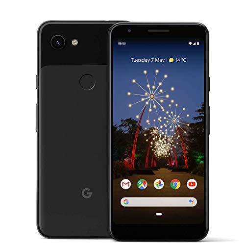 """Google Pixel 3A da 64 GB, smartphone Android 9.0 (colore nero """"Just Black"""") (Elettronica)"""