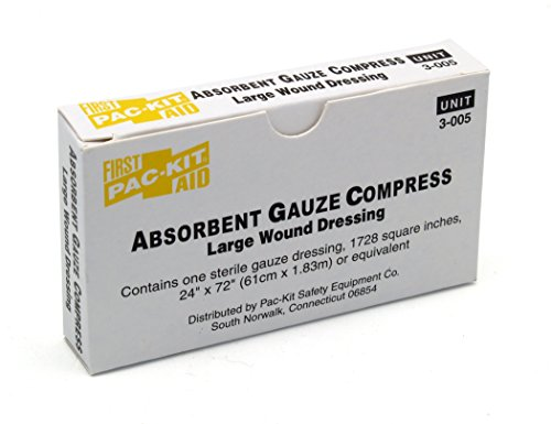 Medique Products 69601 Gauze Compress, 24-Inch X 72-Inch, white