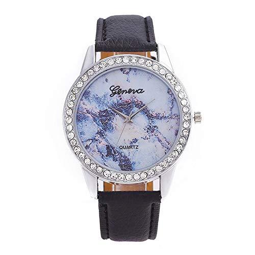 WZFCSAE Relojes Mujer Moda Mujer Reloj de Cuarzo Relojes Simples de Las...
