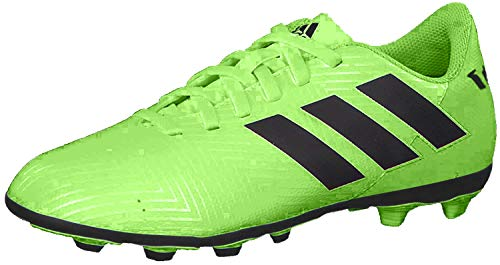 adidas Unisex-Kinder Nemeziz Messi 18.4 FxG Fußballschuhe, Mehrfarbig (Indigo 001), 33 EU