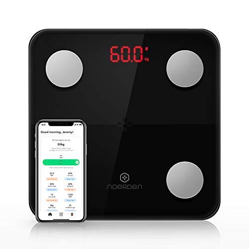 NOERDEN - Balance Connectée MINIMI - Balance Impédancemètre avec Technologie Step-On, Bluetooth,...
