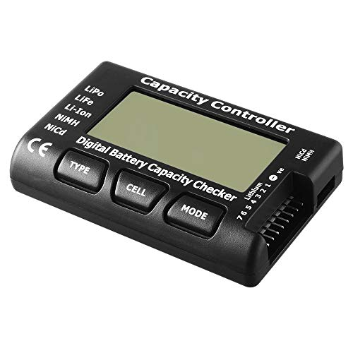 For Sale! Jullynice Universal Rc Cellmeter-7 Digital Cell Battery Capacity Checker for Lipo Life Li-...