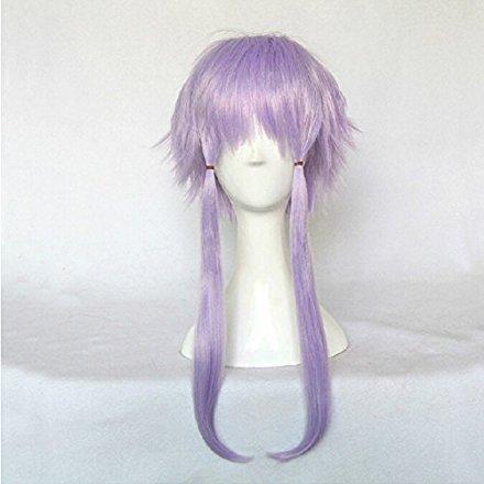 Hyperdimension Neptunia Neptune Purple 35cm Straight Short Cosplay Wig (purple)