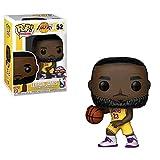 POP! Funko バスケットボール ロサンゼルス・レイカーズ レブロン・ジェームズ #52 ビニールフィギュア 限定品