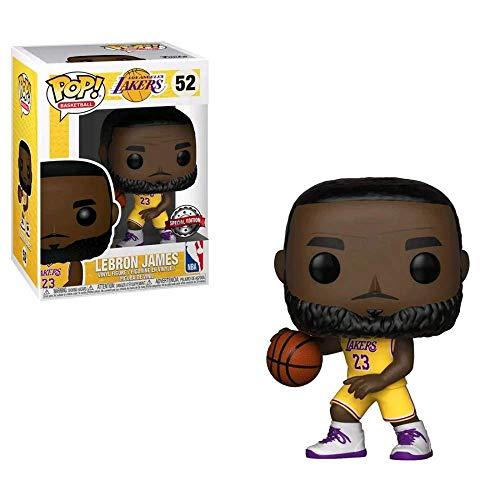 Funko Baloncesto: Los Lakers - LeBron James (Edición Especial Uniforme Amarilla) #52