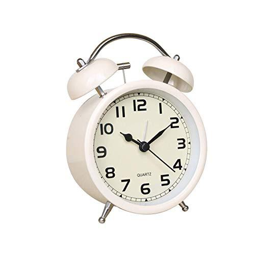 Unbne Reloj Despertador Retro con Pilas Relojes De Mesa para Oficina Cocina Dormitorio Sala De Estar