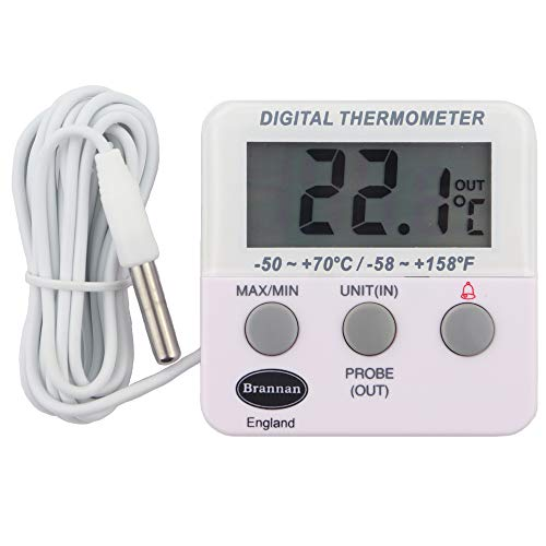 Digitale Kühl-oder Gefrierschrank-Thermometer mit Alarm