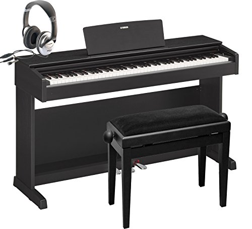E-Piano Yamaha YDP-143 B nero Set, ydp143, pianoforte, piano digitale
