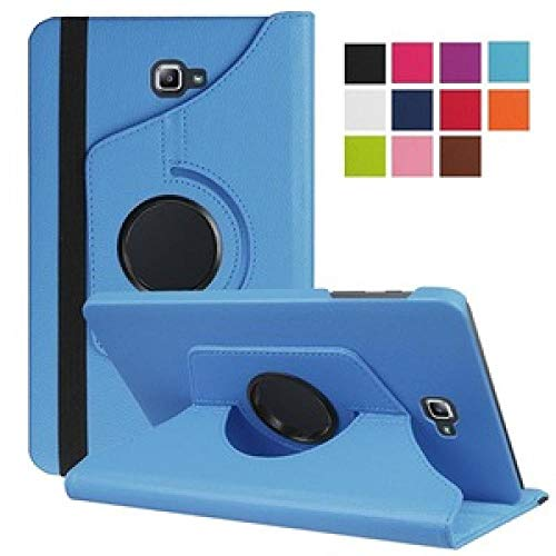For Funda Capa Cover For Galaxy Tab E 7.0 Lite SM-T113 360 Rotation Holder Case for Samsung Tab3 Lite 7 T110 T111 T116-Blue