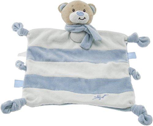 Bieco Schmusetuch Bär Peti ab 0m+, ca. 32x33,5 cm | Schnuffeltuch | Schmusetuch Baby | Kuscheltier Baby | Schnuffeltuch Baby Junge & Mädchen | Baby Schmusetuch | Kuscheltuch Baby | Babyspielzeug