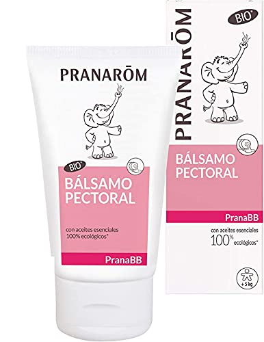 Pranarom Farma Pranabb - Bálsamo Pectoral Bio, 40 Gramos