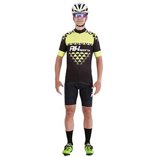 Camisa Ciclismo RH-19 Preto Tamanho:G