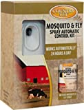 AMREP 009-321962CV Kit 074026 2 Piece Country Vet Equine Mosquito/Flying Insect Control, White