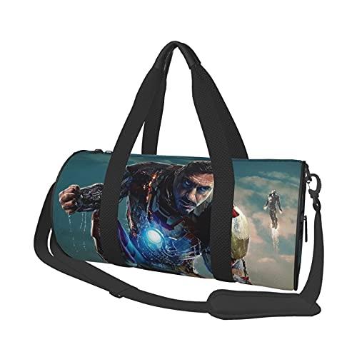 Ir-on M-an Leisure Travel Bag Unisex Holdall Handbags Flight Fashion Gym Sports Training Shopping Shoulder Bags