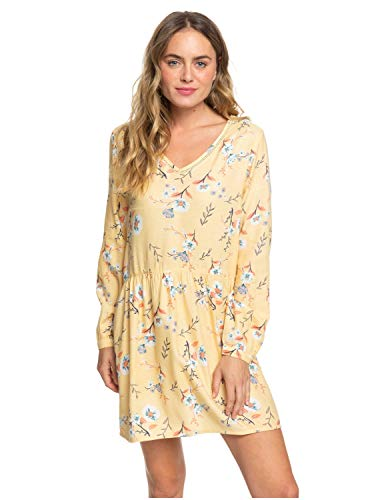 Roxy Indigo Night-Robe Manches Longues pour Femme, Sahara Sun on The River, FR (Taille Fabricant : XL)