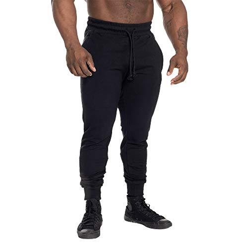 GASP Tappered Jogger Sporthose (Black, M)